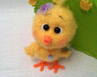 Little chicken - amigurumi PDF crochet pattern