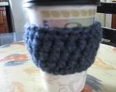 Cup Cozy -  Blue Denim Heather