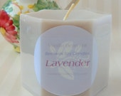 Lavendar Breeze Pillar Candle