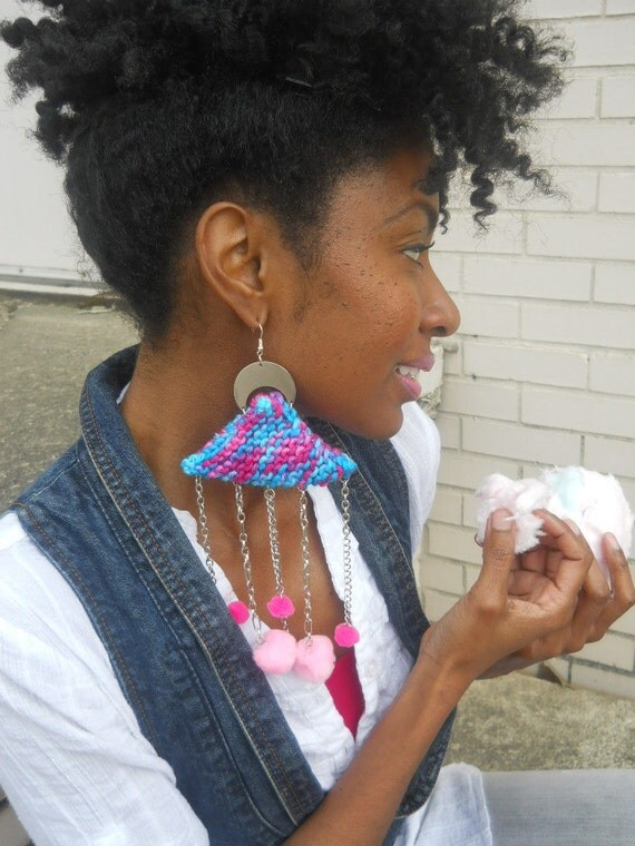 Cotton Candy Boho Knit & Chain Chandelier  ( Cotton Candy Collection SP2012)