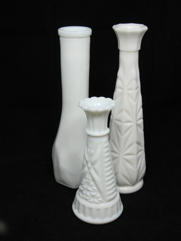 vintage milk glass vases the madison collection instant. Black Bedroom Furniture Sets. Home Design Ideas