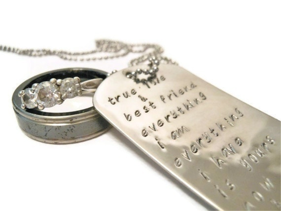 Wedding Vow Gifts: Unavailable Listing On Etsy
