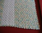 Soft Crocheted Baby Blanket