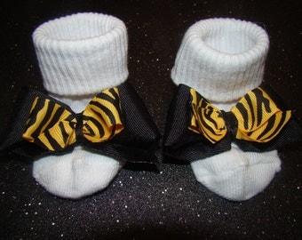 Infant and little girls socks