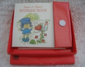 SALE Strawberry Shortcake Address Book with Original Box- American Greetings 80's