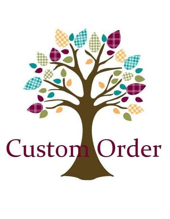 Custom order for Nicole (DandelionBabyblanket)