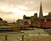 San Francisco - A view from a parking garage