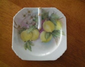 Vintage Hand Painted Handled Dish Made In Japan 1950's