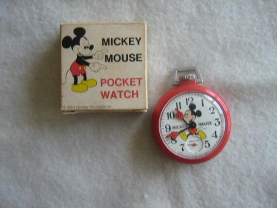 vintage bradley mickey mouse pocket by debssellinstuff