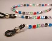 Czech Glass Beaded Eyeglass Holder Necklace.  CKDesigns.us