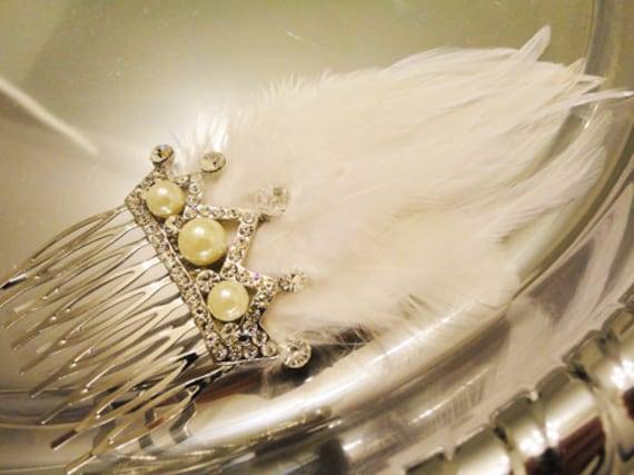 Pearl Bridal Crown Tiara