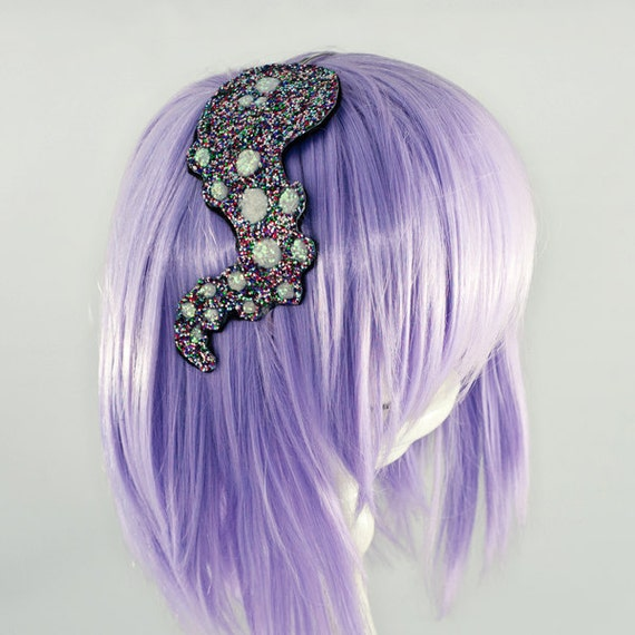 Octopus Jewelry Tentacle Glitter Headband Anime Sushi