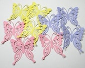 9 Butterfly die cuts - Handmade die cuts, tags, and paper crafting supplies by UniquesStashNStuff