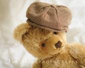Custom Tweed Newsboy Hat