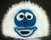 Abominable Snowman Hat, Bumble, Yeti, Monster, Rudolph the Red Nosed Reindeer Hat - CHILD SIZED