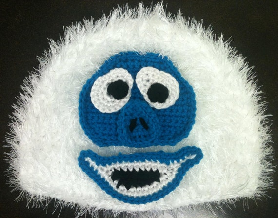 Abominable Snowman Bumble Monster Rudolph the Red Nosed Reindeer Hat - CHILD SIZED