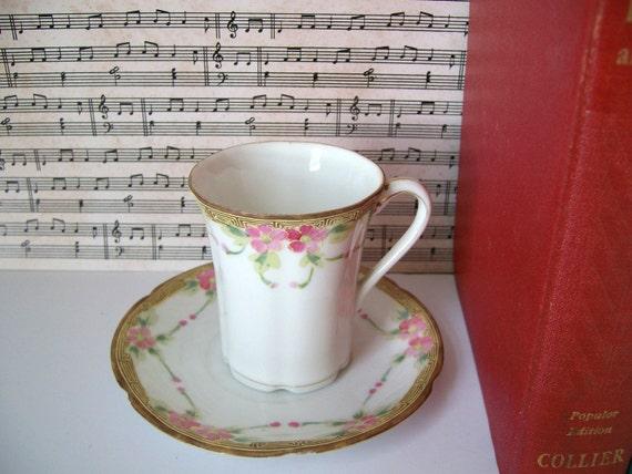 Nippon Tea Cup and Saucer