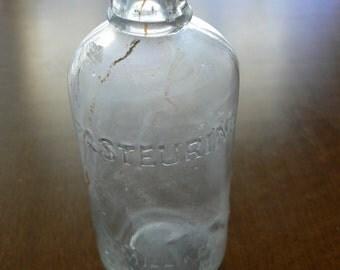 Antique Pasteurine Medicine Bottle