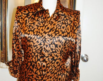 Notations Bold Print Shirt