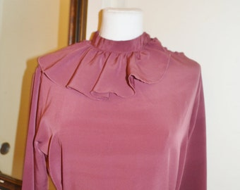 Amica Blouse with Ruffle Collar