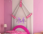 Wall Decal Childrens Monogram Name Initial    Vinyl Wall Decal  Children   LOTS of MONOGRAMS in store