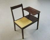 Mid-Century Modern Telephone Table Gossip Chair