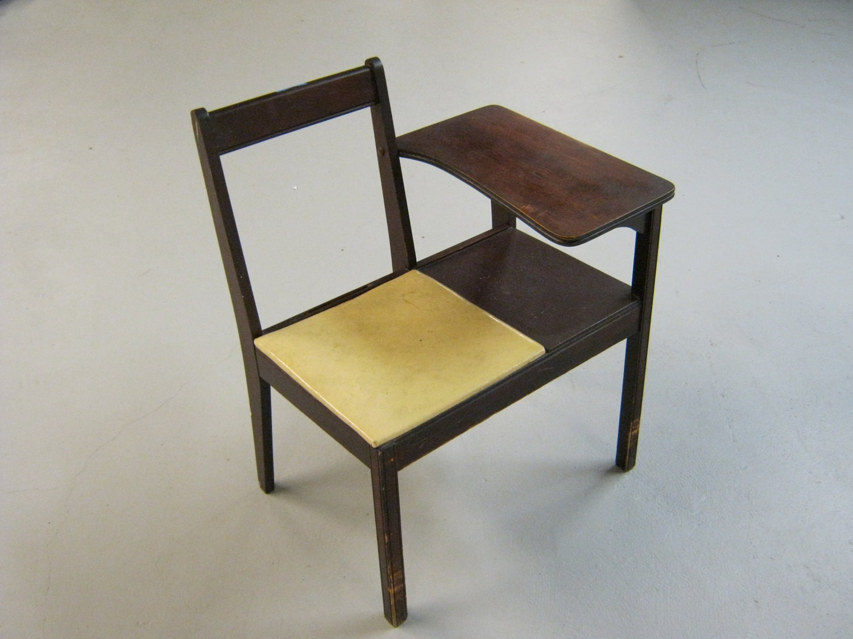 Mid Century Modern Telephone Table Gossip Chair