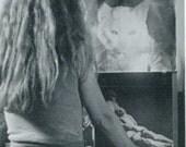 Mirror Image - Photo by Teresa De Poe - Vintage Postcard