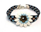 Ribbon Bracelet Flower Bracelet Brown Blue Cream Jewelry Casual Fun Everyday Party Favors Children Jewellery