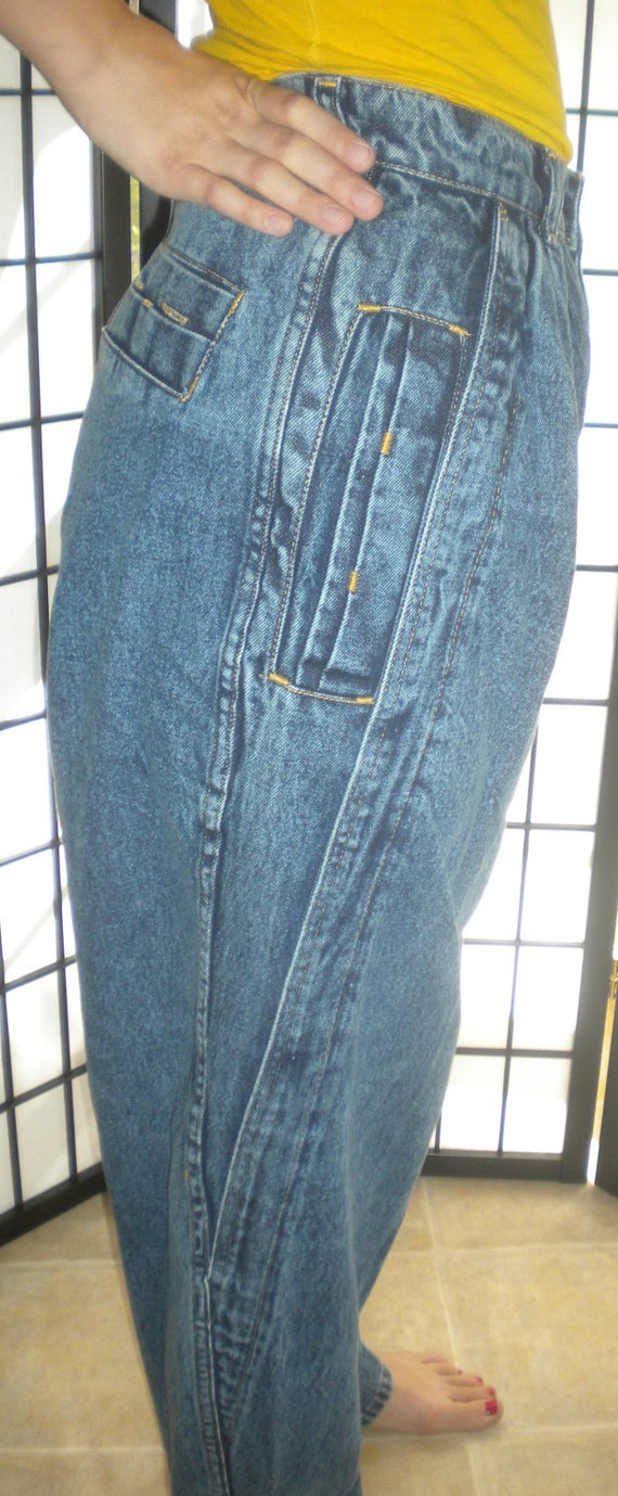 Vintage High Waisted Baggy Jeans