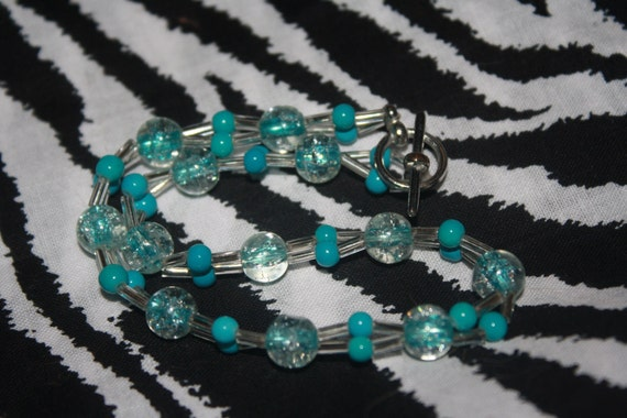 Teal anklet (get this half off today)