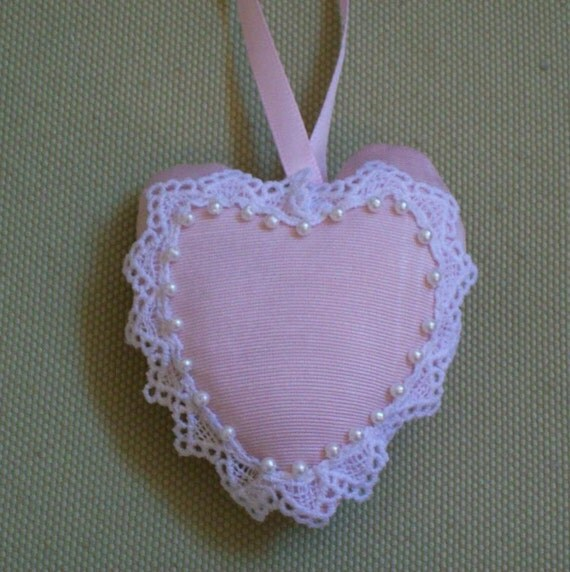 Special Order Reserved for Riouhad1   10 pink heart sachets