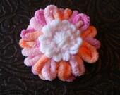Pinky Peach Yarn Loopy Bloom