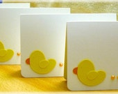 Thank you - set of 4 mini cards