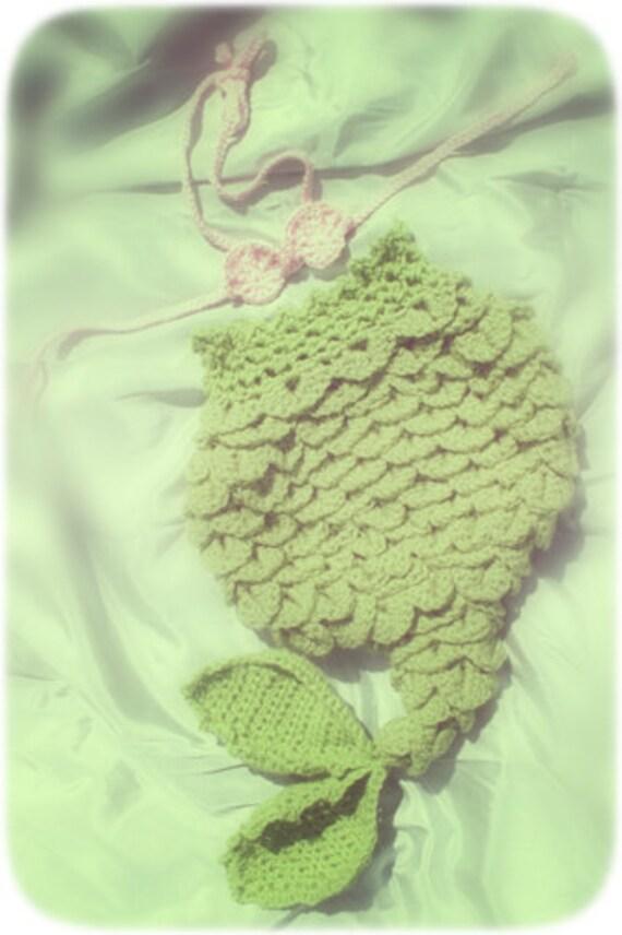 Free Crochet Pattern Mermaid Cocoon : PDF Crochet Pattern Mermaid Tail Cocoon by ...