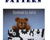 Teddy bear bookmark PATTERN