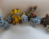 Oh, so tiny Collection - 8 tiny amigurumi patterns in 1
