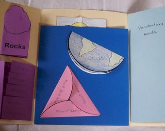 Earth Lapbook PDF- LDS reference