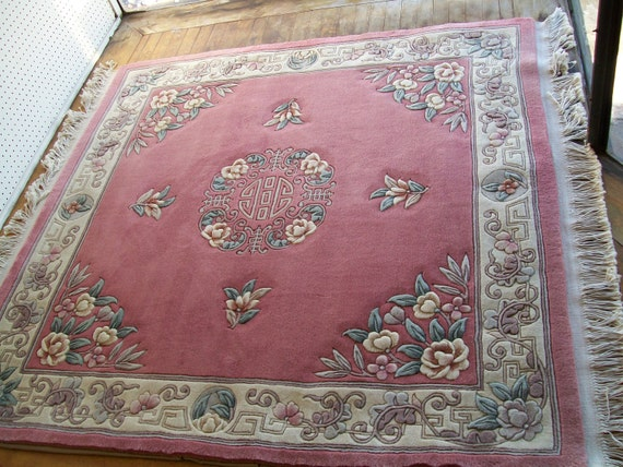 Hold for Daryl Hand Woven Wool Oriental Rug 5'x5' free shipping too