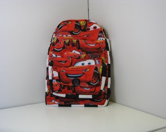 Lightning McQueen Preschool Backpack