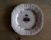 Queen Elizabeth II Silver Jubilee Celebration Plate