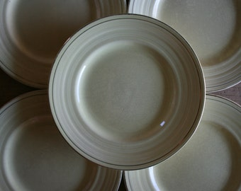 1940's George Clews & Co. Bowl And Side Plates - Staffordshire England