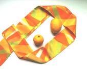 Sale Retro Scarf Geometric Mod Scarf