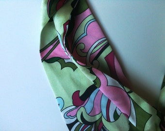 Retro Psychedelic Scarf Susan Daniels Modified