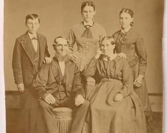 Vintage/ Antique Photo of Great family portrait