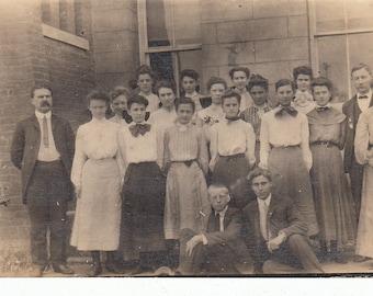 Vintage/Antique photo of a class
