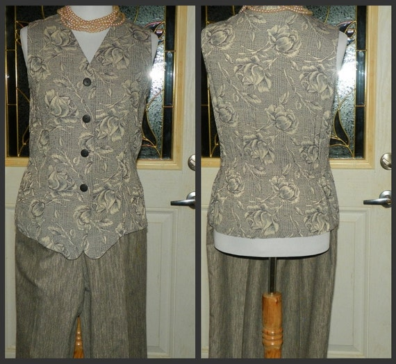 Tailored  Pant and Vest Set