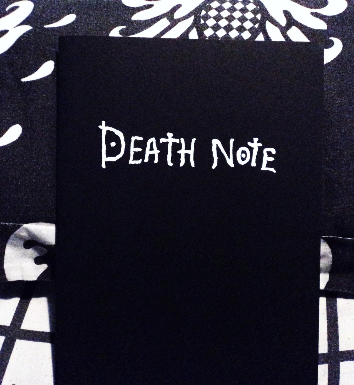 Death Note 8 Bit Ringtone: Death Note Notebook Replica