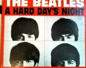 the BEATLES album A HARD days NIGHT