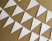 Wedding Bunting Flag Paper Garland